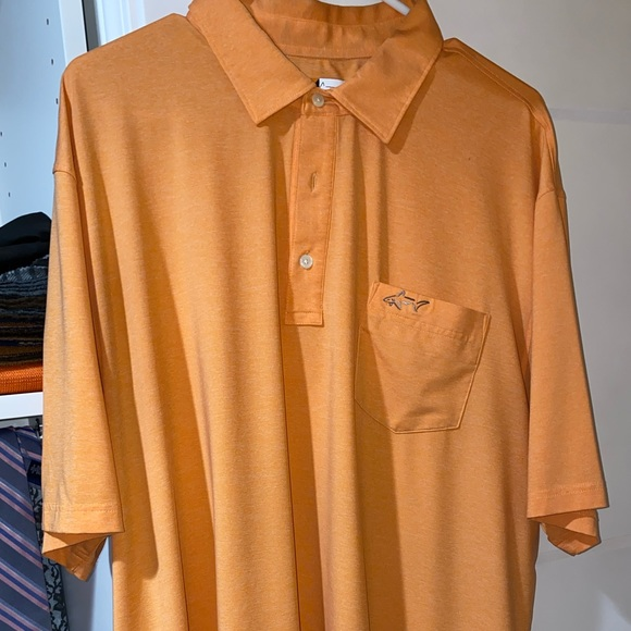 Greg Norman Collection Other - Greg Norman Active Polos (2X) orange and pink